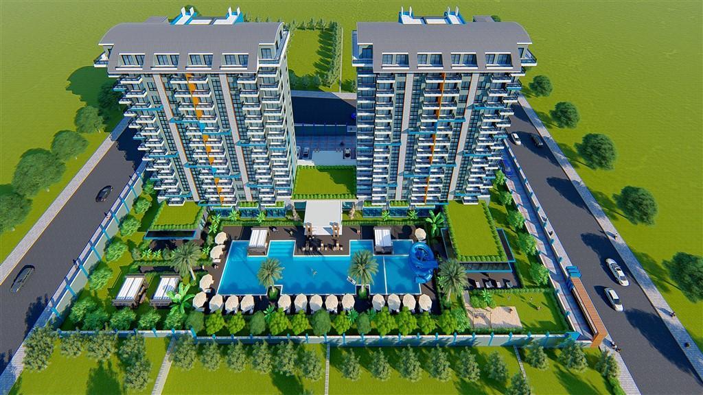Строительство нового жилого комплекса в популярном районе Махмутлар - Фото 11