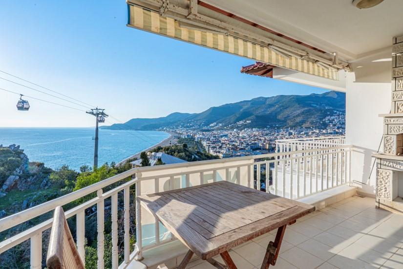 Двухкомнатная квартира с видом на пляж Клеопатра - Фото 10