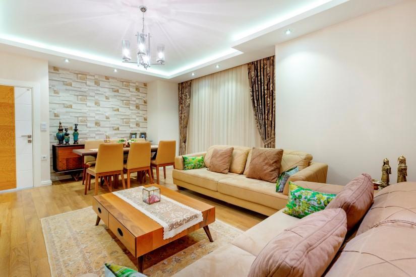 Недорогая трехкомнатная квартира в Джикджилли - Фото 20