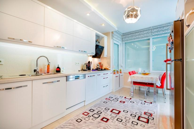 Недорогая трехкомнатная квартира в Джикджилли - Фото 22