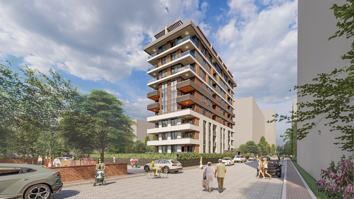 Жилой комплекс с великолепной локацией, Махмутлар - Фото 3