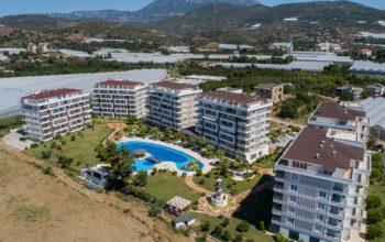Новый комплекс расположен в уютном районе Демирташ