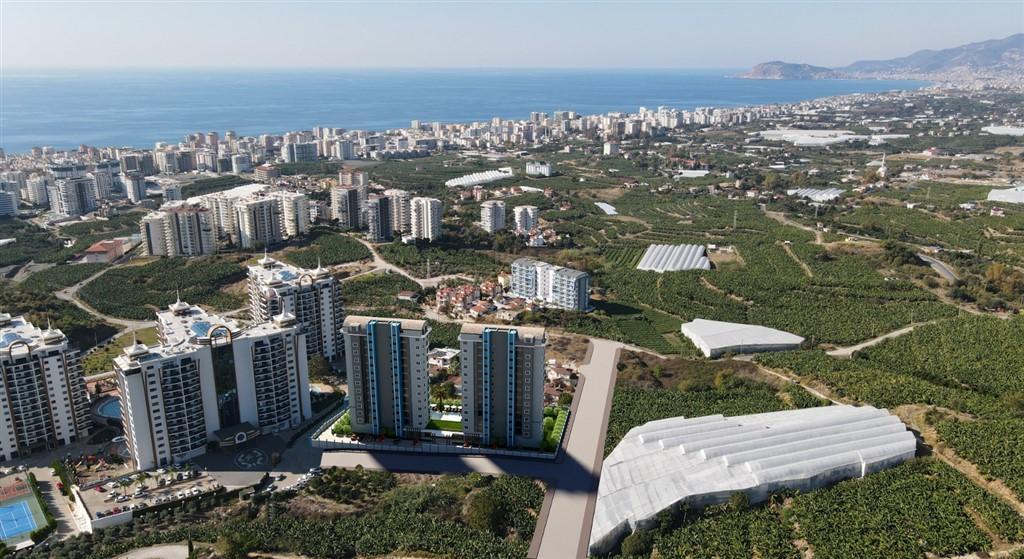 Строительство нового жилого комплекса в популярном районе Махмутлар - Фото 3