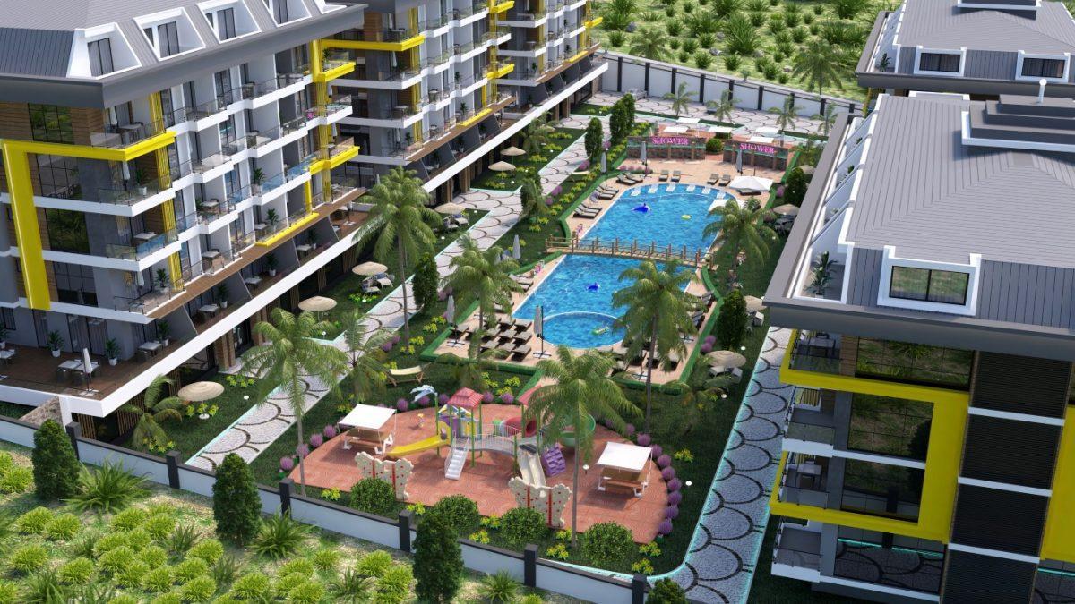 Новый комплекс в одном из элитных районах Алании - Кестель - Фото 15
