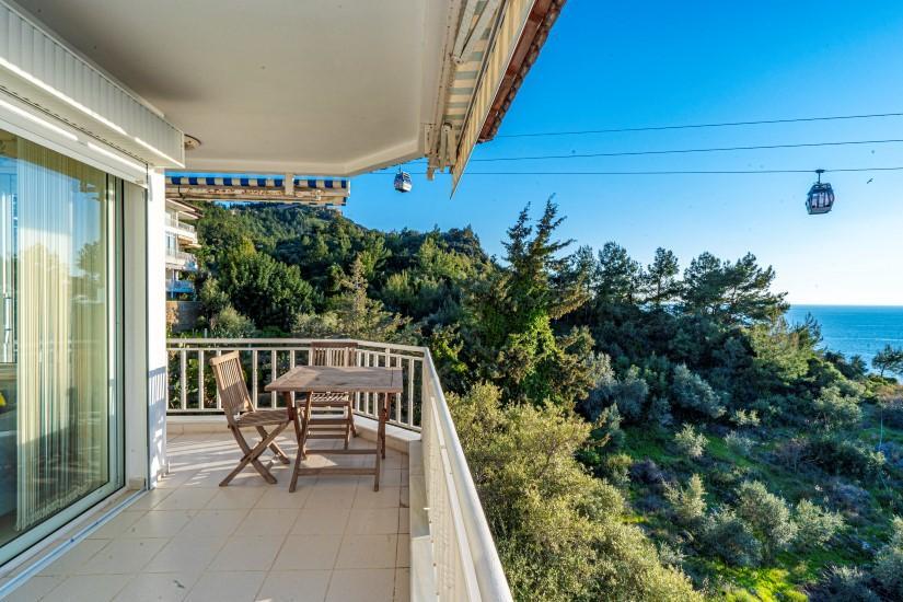 Двухкомнатная квартира с видом на пляж Клеопатра - Фото 7