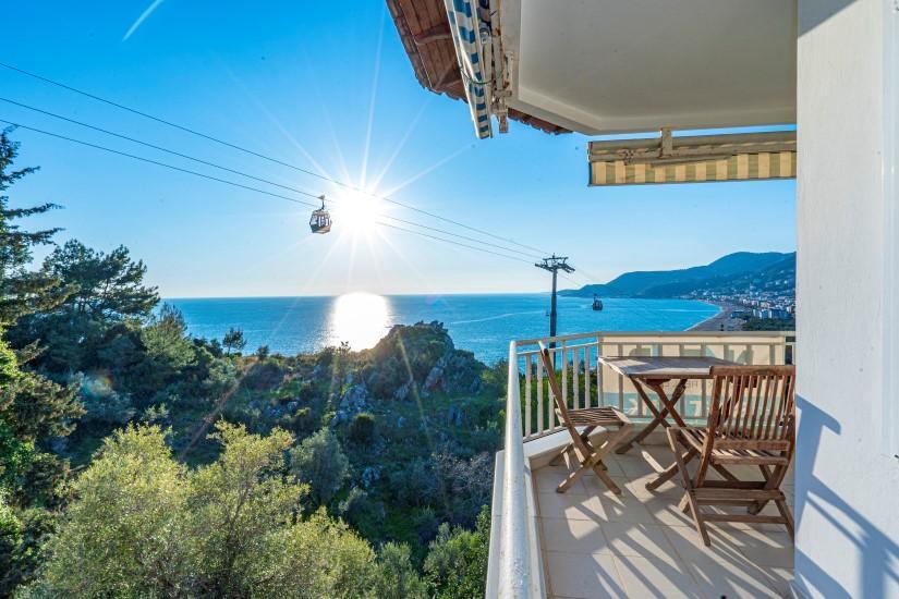 Двухкомнатная квартира с видом на пляж Клеопатра - Фото 9