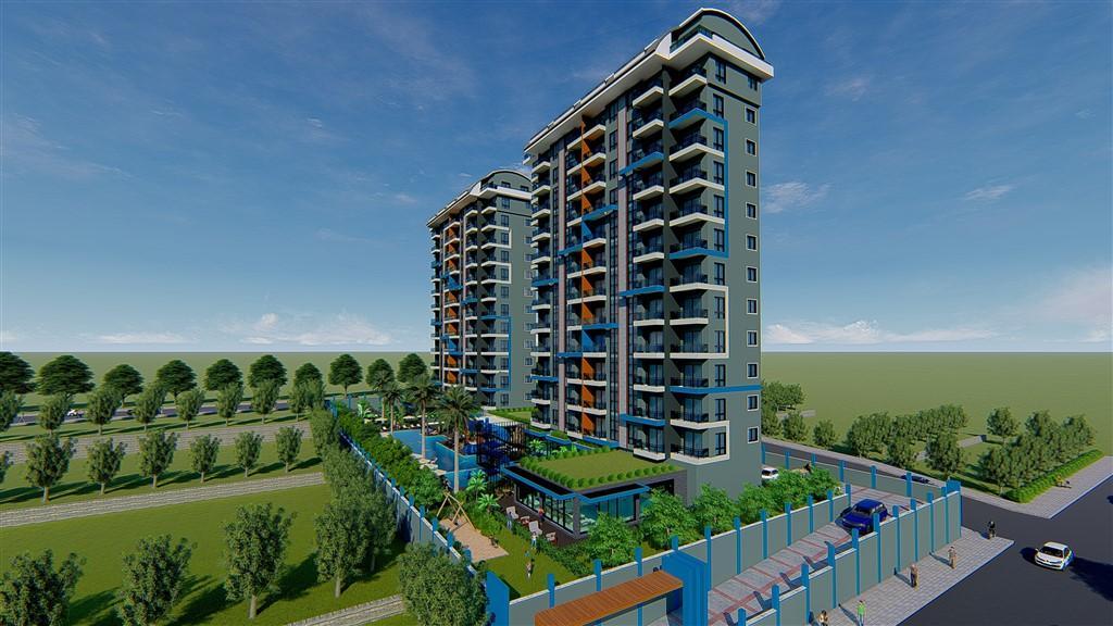 Строительство нового жилого комплекса в популярном районе Махмутлар - Фото 12
