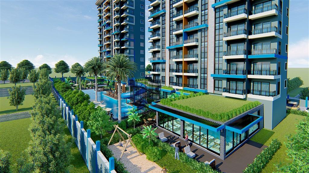 Строительство нового жилого комплекса в популярном районе Махмутлар - Фото 13