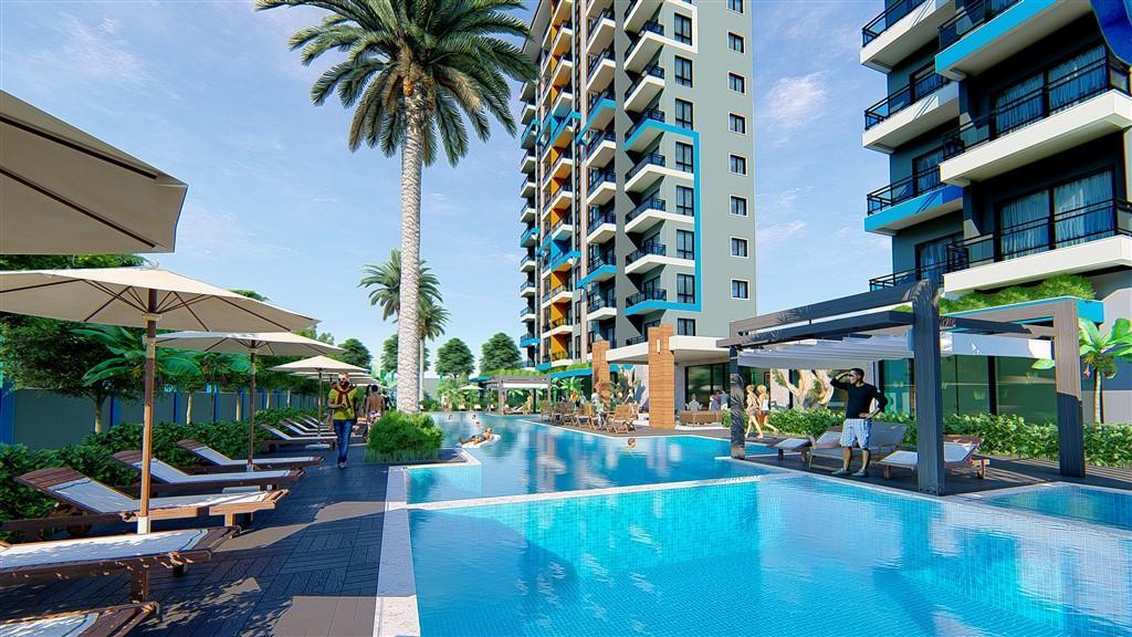 Строительство нового жилого комплекса в популярном районе Махмутлар - Фото 16