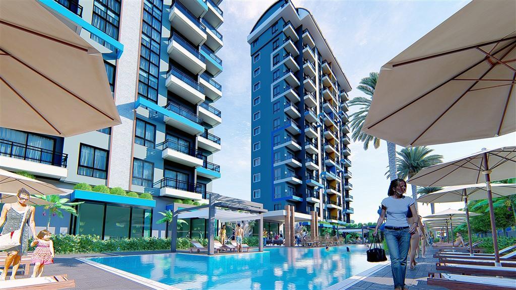 Строительство нового жилого комплекса в популярном районе Махмутлар - Фото 17