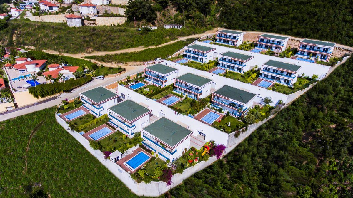 Просторные и современные виллы с приватным бассейном в районе Каргыджак - Фото 1