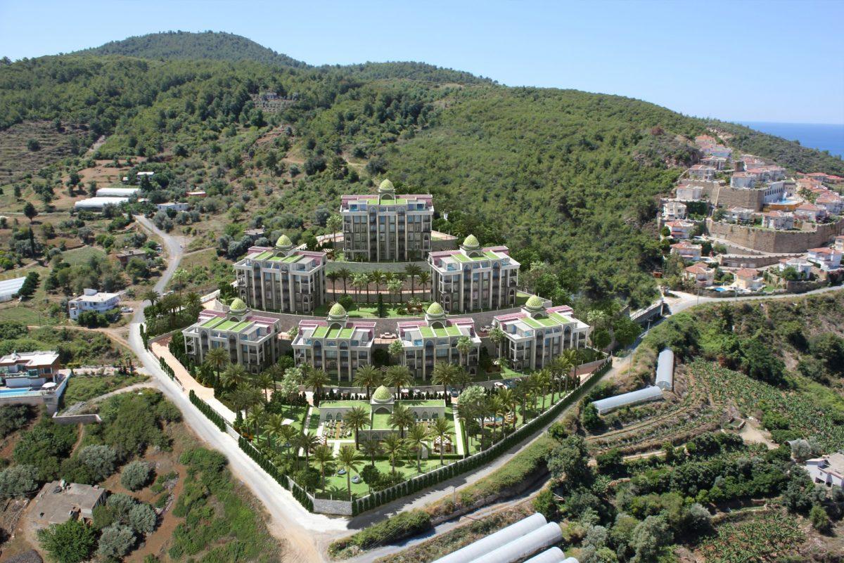 Жилой комплекса премиум-класса в самом живописном районе Алании-Каргыджак - Фото 1