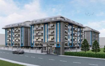 Cтроительство нового жилого комплекса в районе Оба