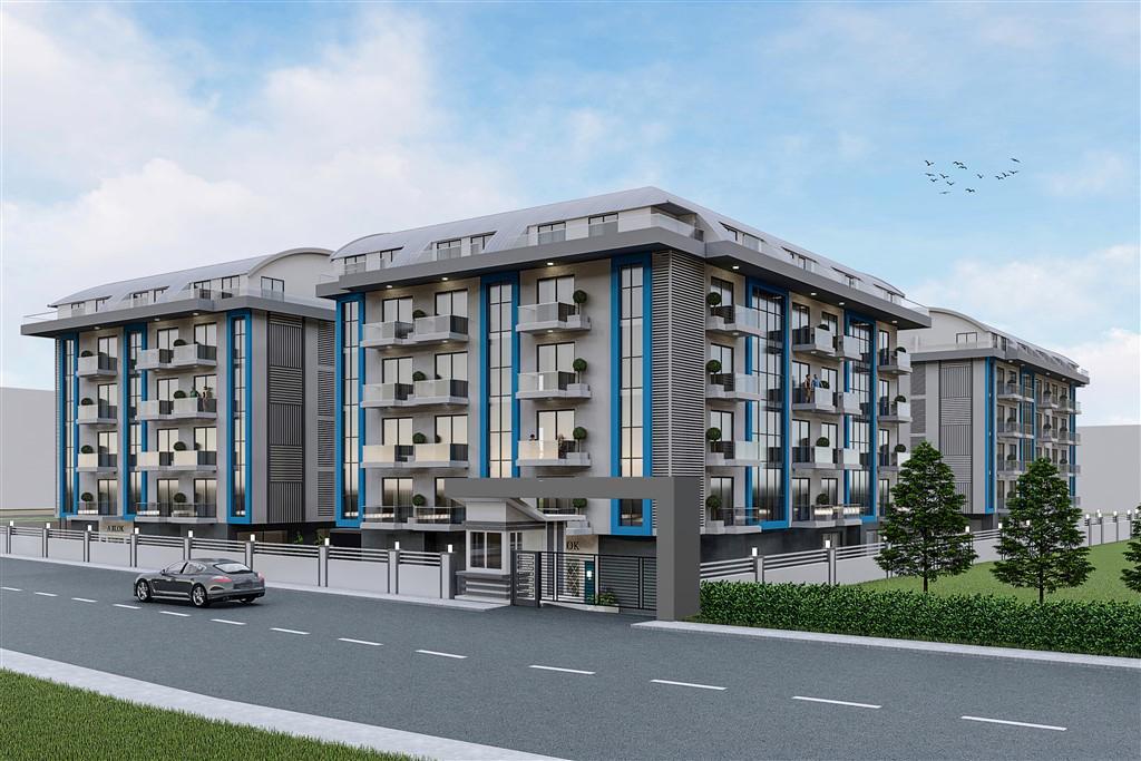 Cтроительство нового жилого комплекса в районе Оба - Фото 1