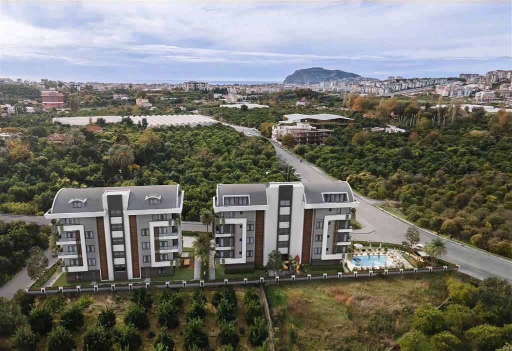 Новый комплекс в престижном районе Оба в Алании - Фото 3