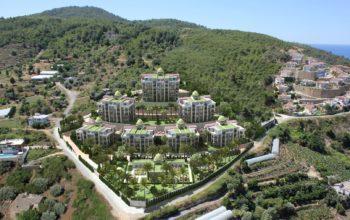 Жилой комплекса премиум-класса в самом живописном районе Алании-Каргыджак