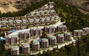 Многофункциональный комплекс апартаментов и вилл класса люкс в районе Каргыджак