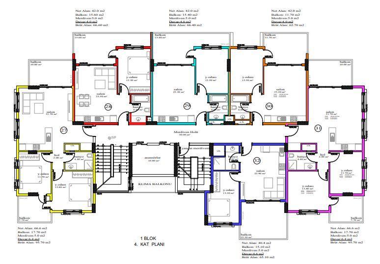 Масштабный жилой комплекс, состоящий из 10 квартирных блоков  - Фото 20