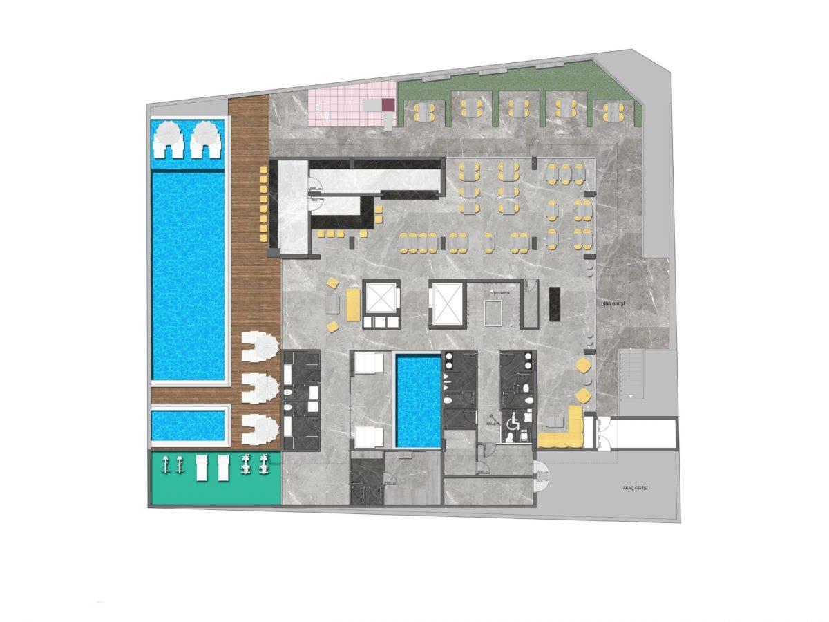 Новый стильный комплекс в Центре Алании  - Фото 22