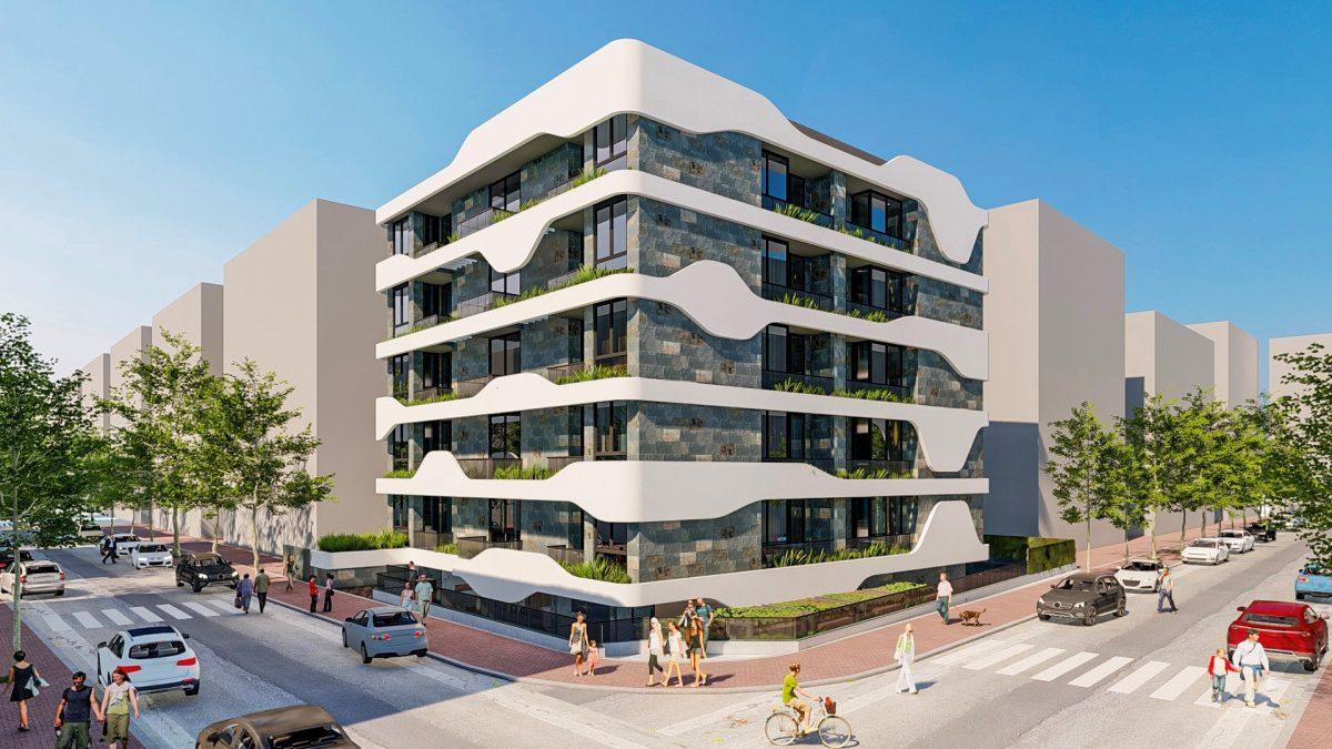 Новый стильный комплекс в Центре Алании  - Фото 1