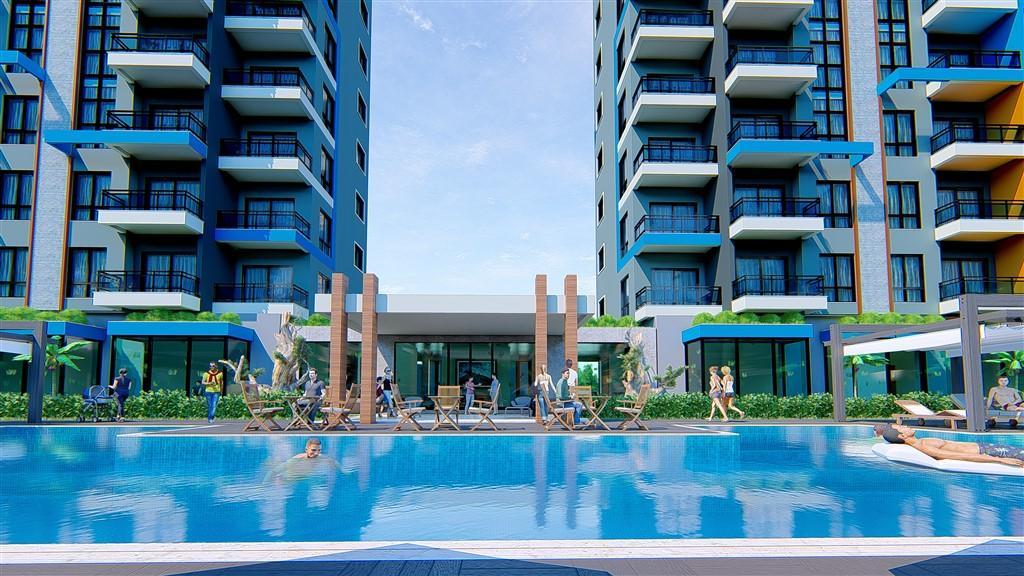 Строительство нового жилого комплекса в популярном районе Махмутлар - Фото 20