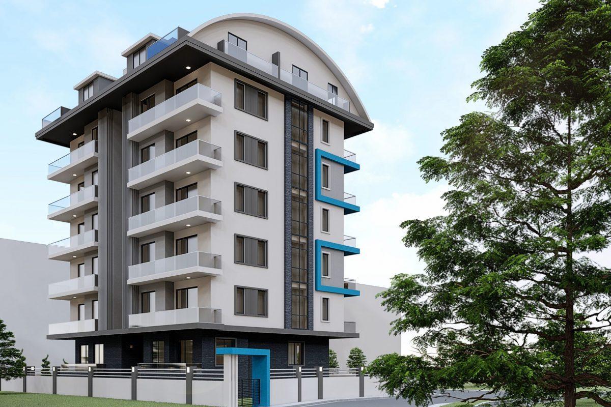 Новый жилой комплекс в популярном русскоязычном районе Махмутлар - Фото 2