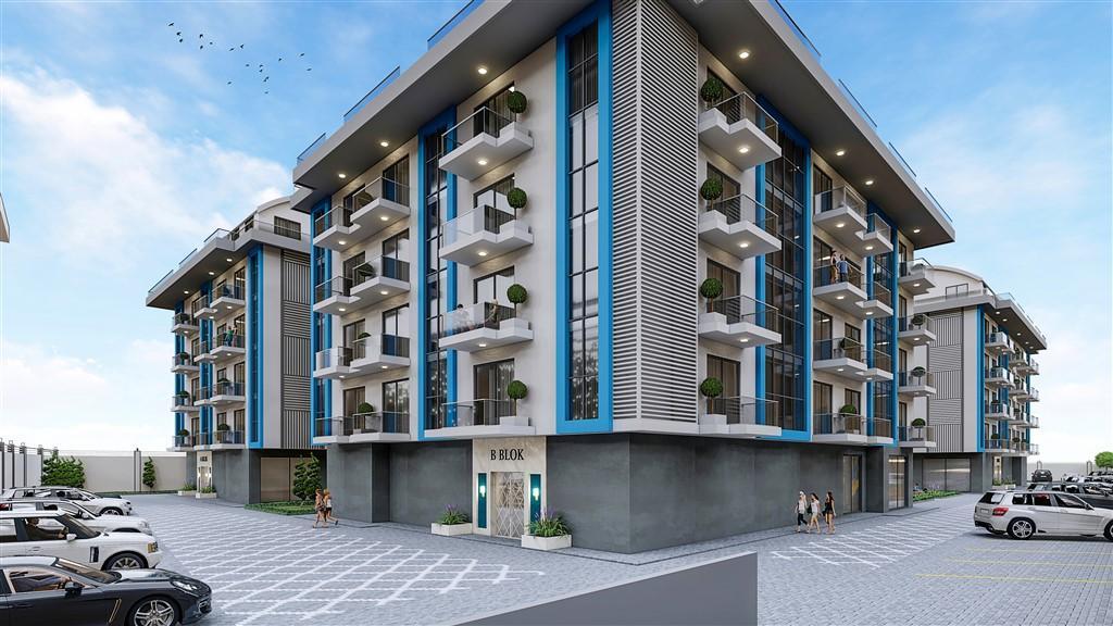 Cтроительство нового жилого комплекса в районе Оба - Фото 2