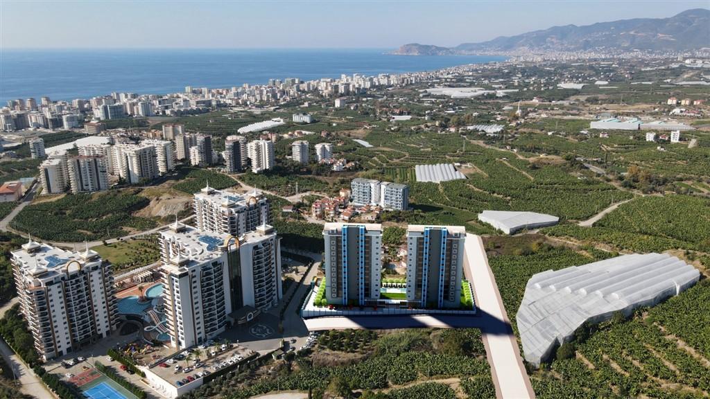 Строительство нового жилого комплекса в популярном районе Махмутлар - Фото 2