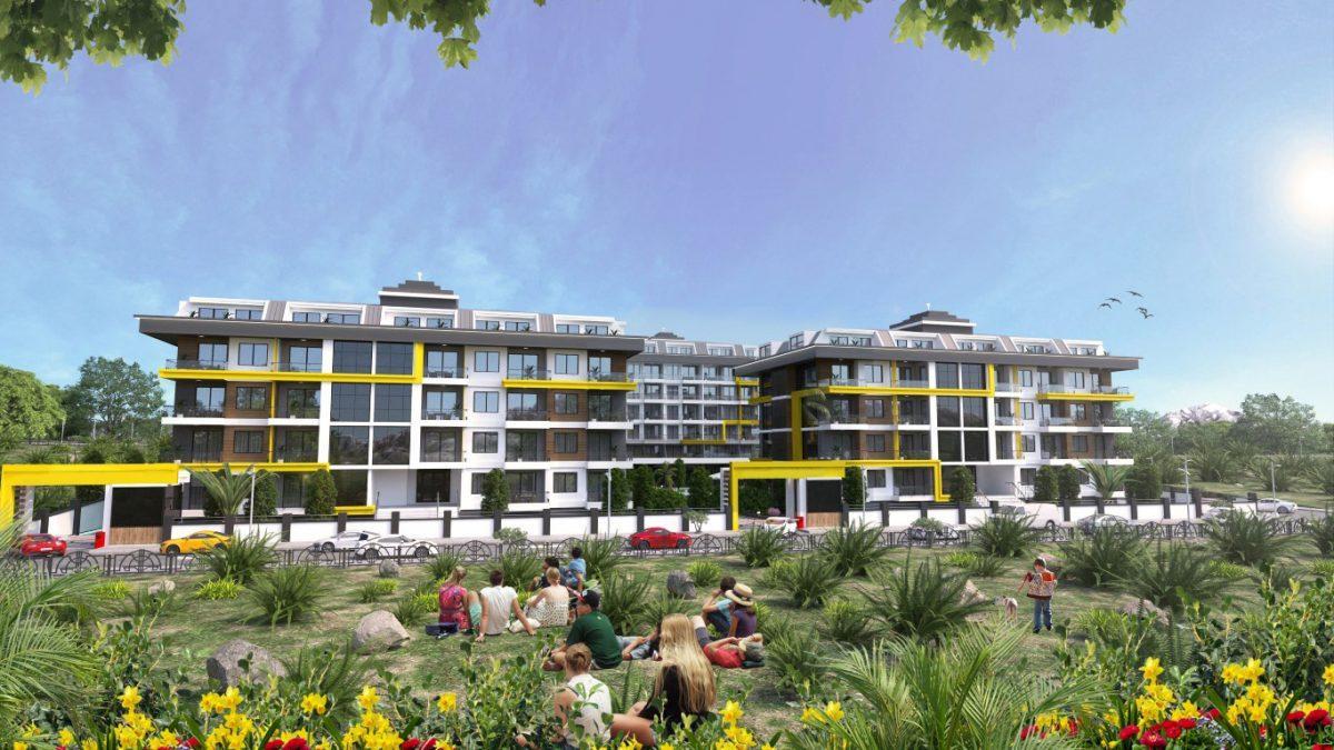 Новый комплекс в одном из элитных районах Алании - Кестель - Фото 14