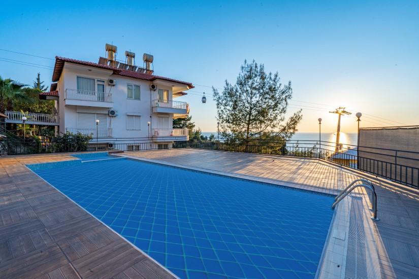 Двухкомнатная квартира с видом на пляж Клеопатра - Фото 14