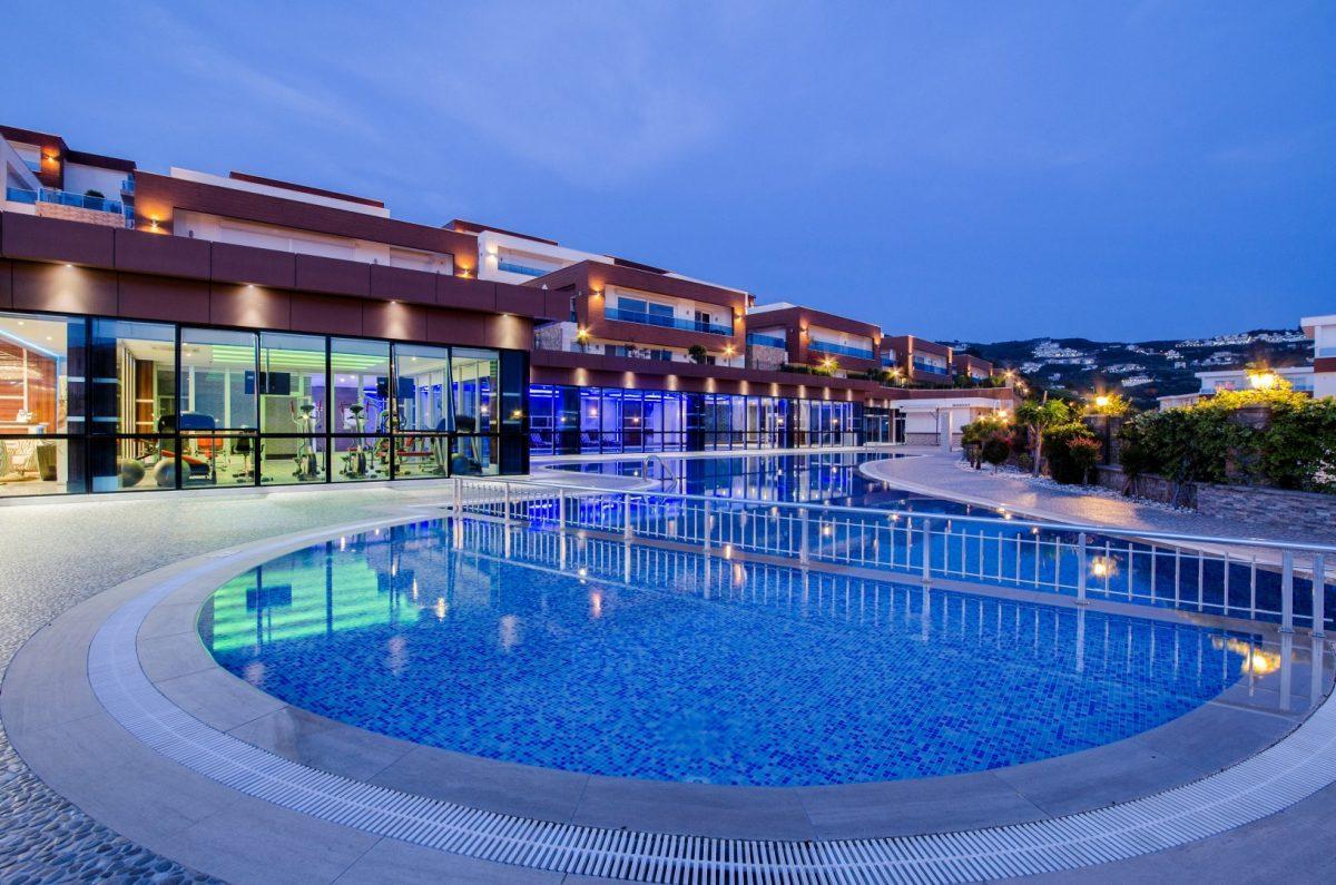 Многофункциональный комплекс апартаментов и вилл класса люкс в районе Каргыджак  - Фото 4