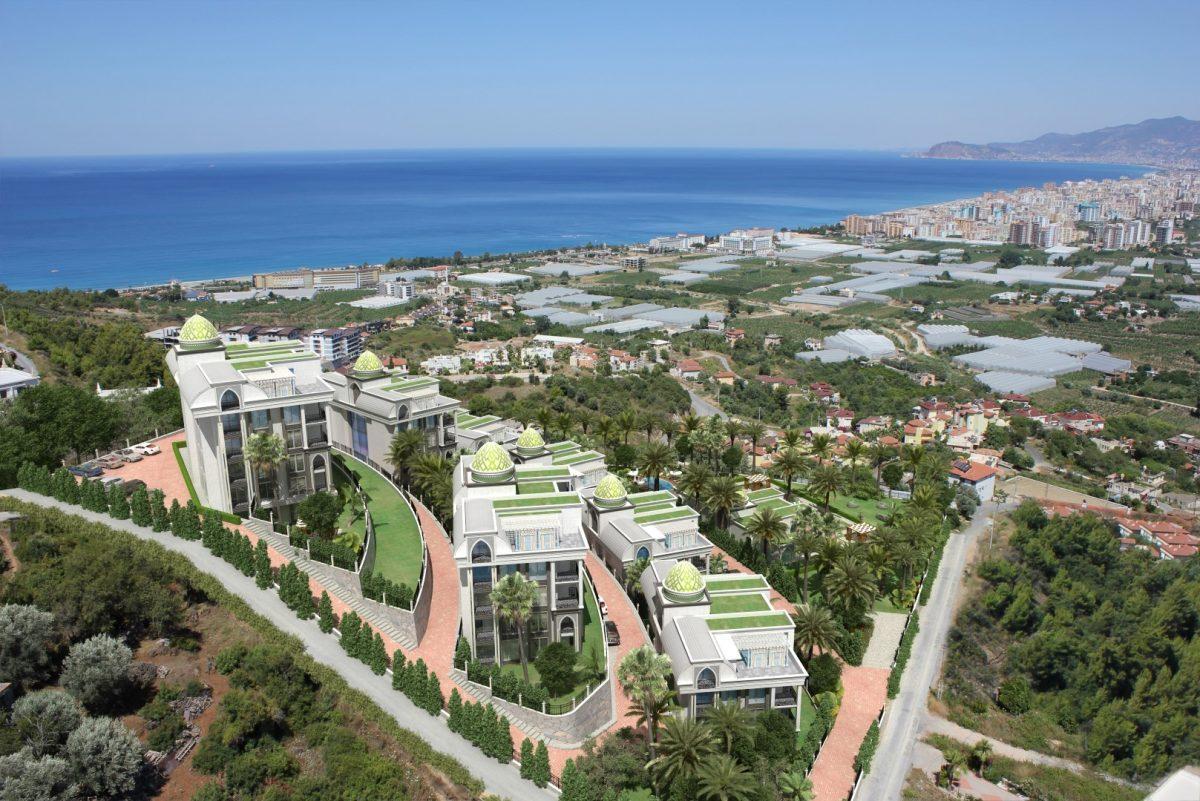 Жилой комплекса премиум-класса в самом живописном районе Алании-Каргыджак - Фото 6