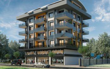 Современный жилой комплекс в 230 метрах от моря