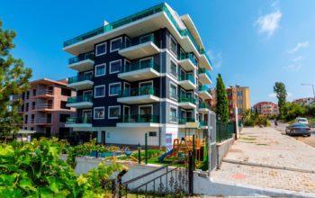 Уютный комплекс с хорошей инфраструктурой в районе Авсаллар