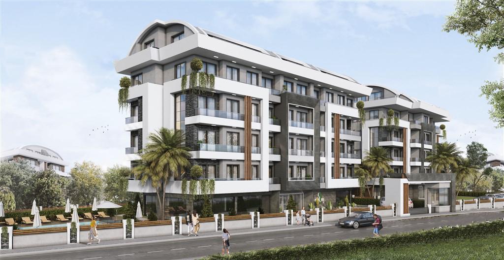Новый комплекс в престижном районе Оба в Алании - Фото 2