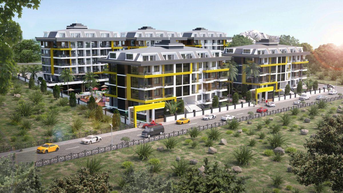 Новый комплекс в одном из элитных районах Алании - Кестель - Фото 2