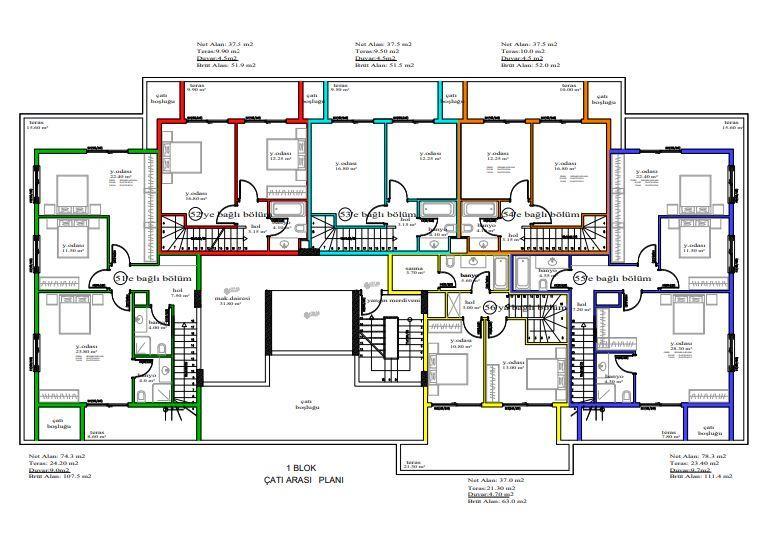 Масштабный жилой комплекс, состоящий из 10 квартирных блоков  - Фото 22
