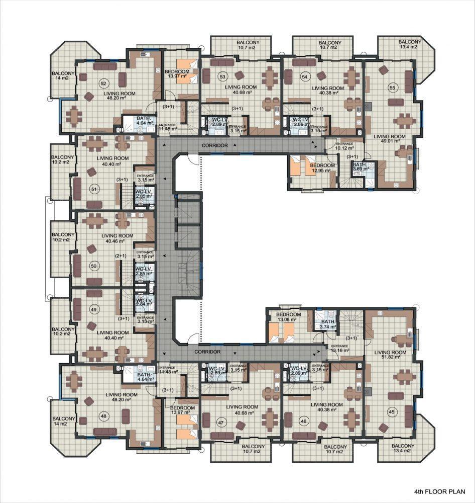 Жилой комплекс с концепцией 5 звездочного отеля в районе Каргыджак - Фото 23