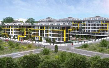 Новый комплекс в одном из элитных районах Алании - Кестель