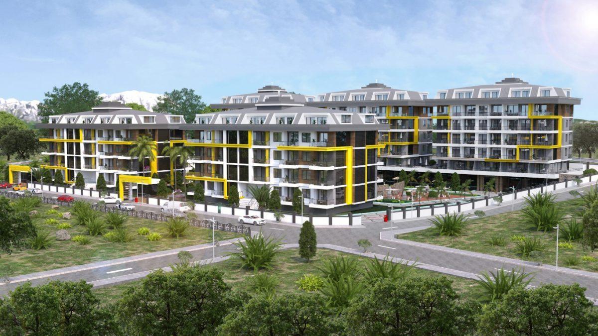 Новый комплекс в одном из элитных районах Алании - Кестель - Фото 1