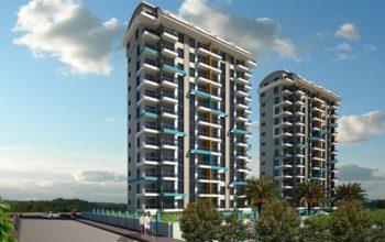 Строительство нового жилого комплекса в популярном районе Махмутлар