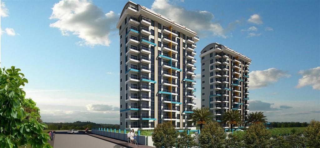 Строительство нового жилого комплекса в популярном районе Махмутлар - Фото 1