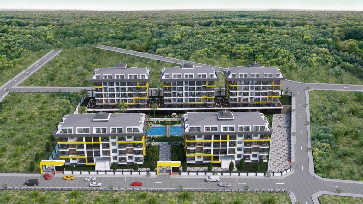 Новый комплекс в одном из элитных районах Алании - Кестель - Фото 13