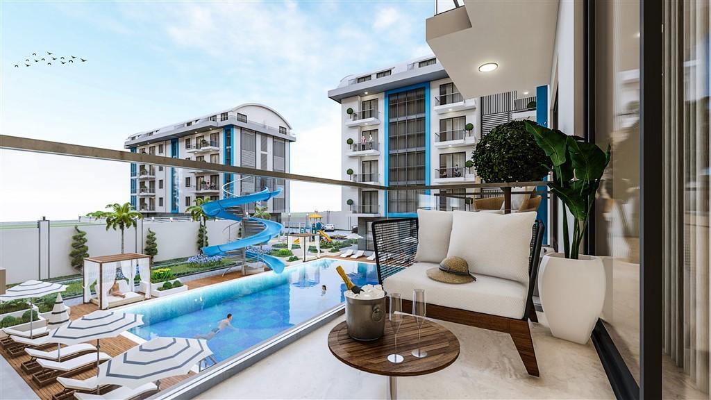 Cтроительство нового жилого комплекса в районе Оба - Фото 7