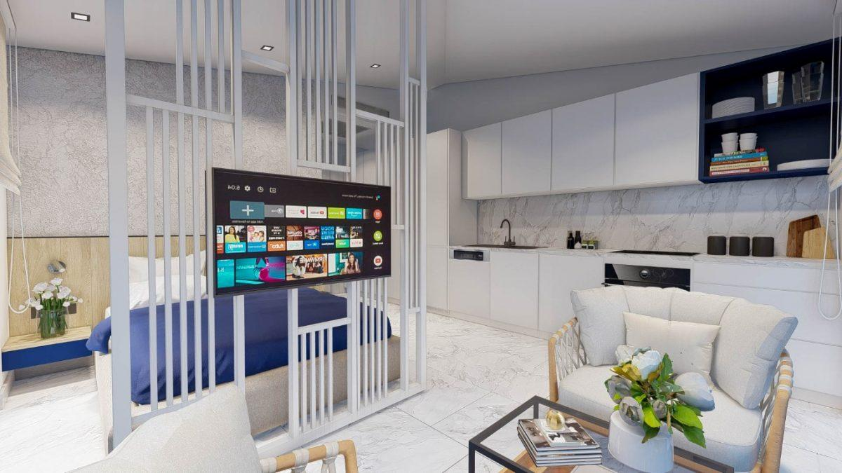 Новый стильный комплекс в Центре Алании  - Фото 12