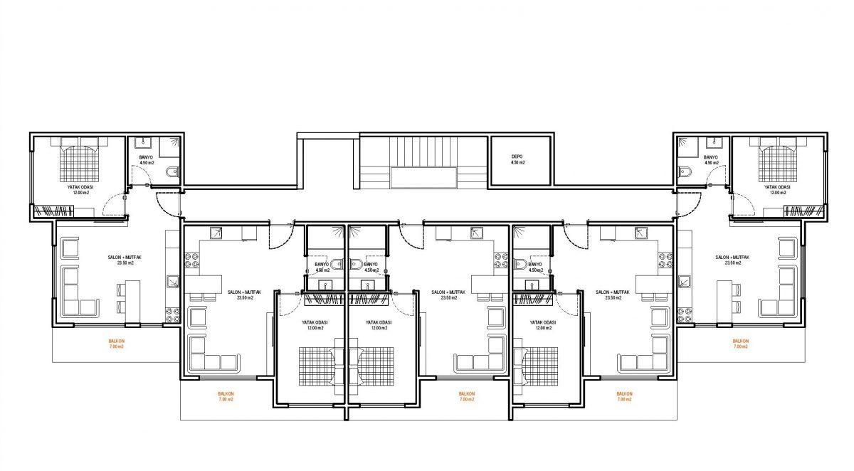 Строительство нового жилого комплекса в экологически чистом районе Авсаллар - Фото 26