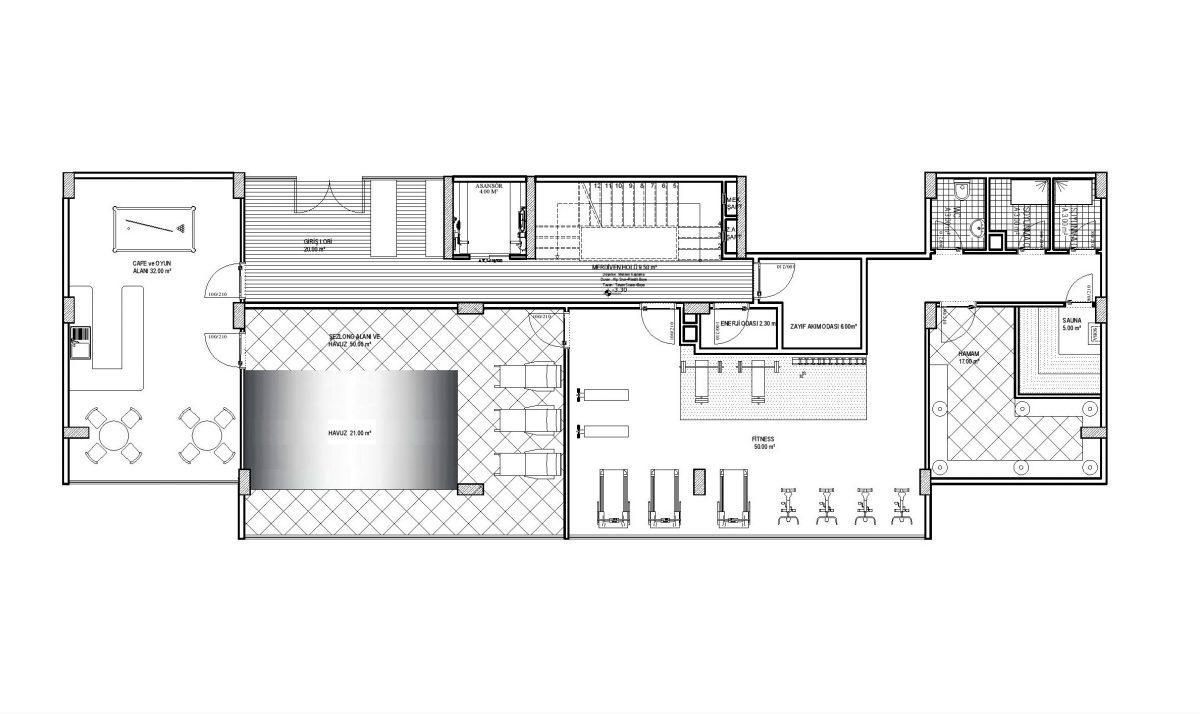 Строительство нового жилого комплекса в экологически чистом районе Авсаллар - Фото 27