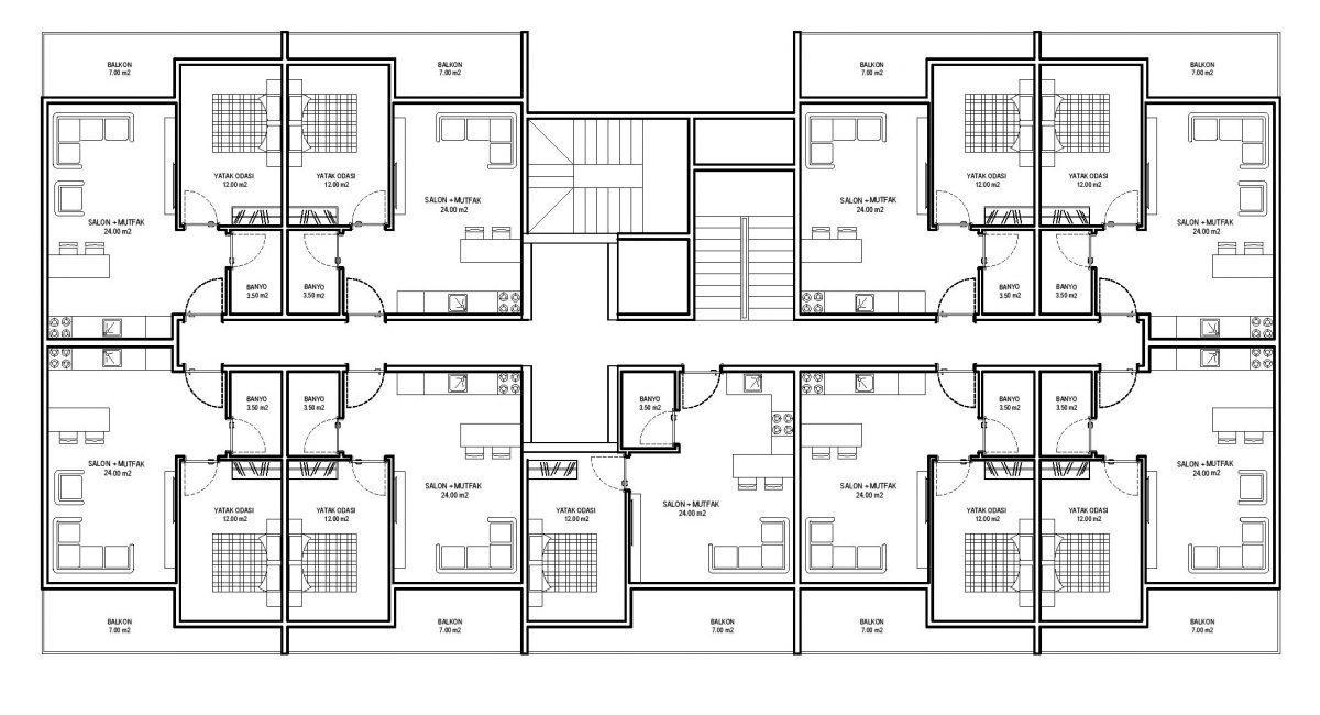 Строительство нового жилого комплекса в экологически чистом районе Авсаллар - Фото 29