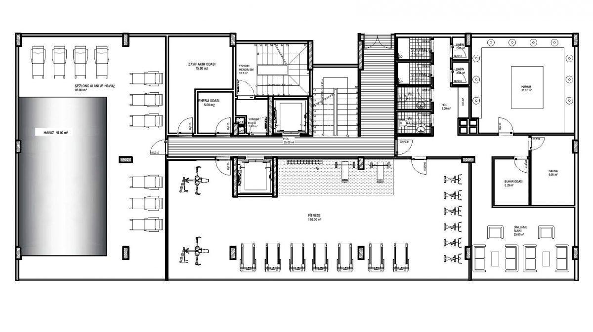 Строительство нового жилого комплекса в экологически чистом районе Авсаллар - Фото 30