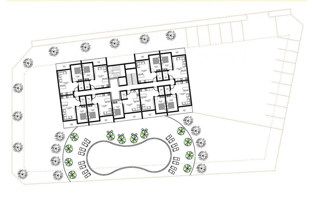 Строительство нового жилого комплекса в экологически чистом районе Авсаллар - Фото 31
